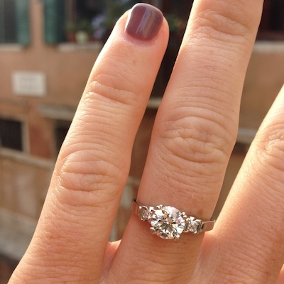 Heather's ring!