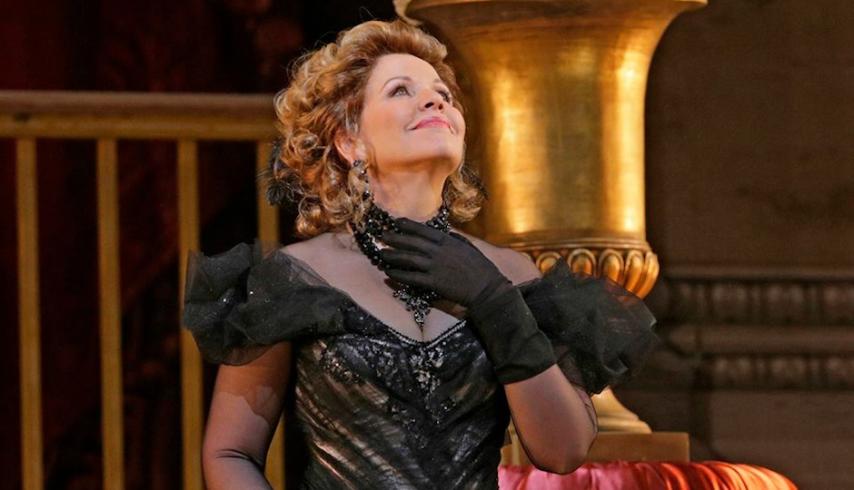 "Renee Fleming in ""The Merry Widow."""