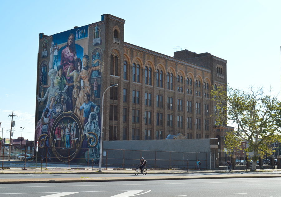 The future site of Mural Arts Lofts, photo: James Jennings