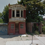 Blighted housing in Camden is being marked for destruction. | Google Street View