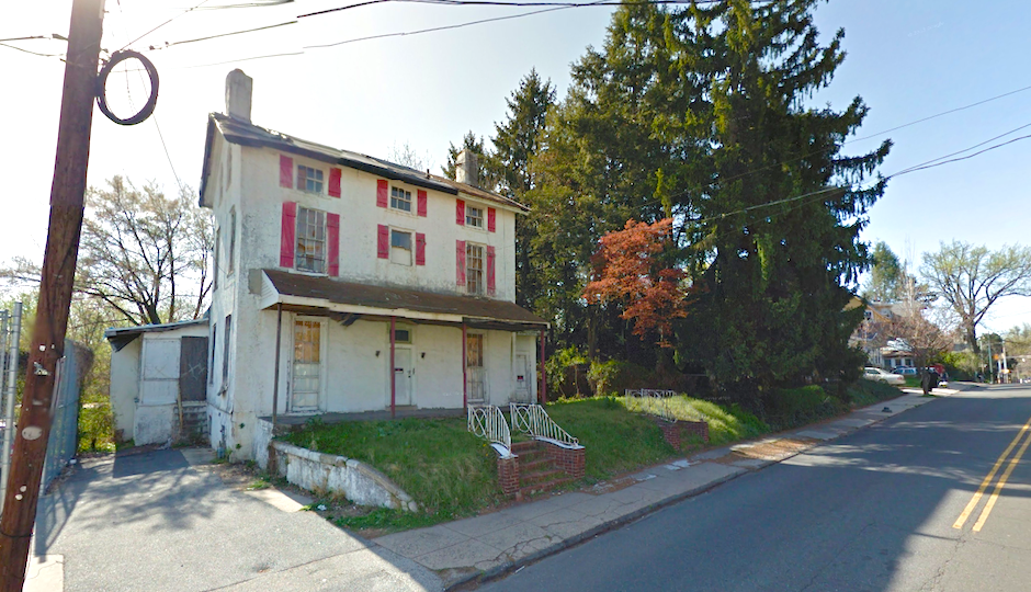 Darby Main Street House preservation Screenshot via Google Street View
