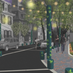 One arm of city government plans to make a Germantown street look like this, while another...