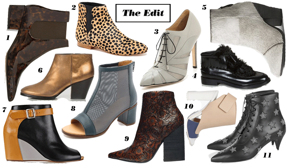 Statement-Booties