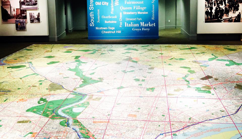 The Largest Walkable Map of Philadelphia | Photo via Facebook