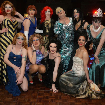 Celebrate the Golden Globes with the Bingo-Verifying Divas at AIDS Fund's GayBingo on Saturday night.
