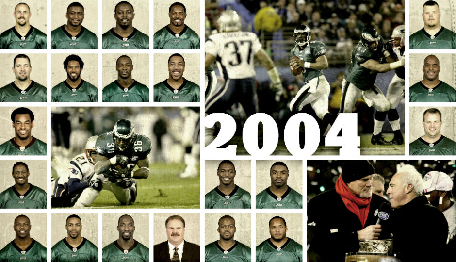 The 2004 Eagles Super Bowl Starters Then And Now
