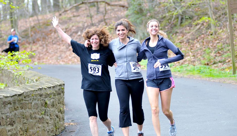 Runners at the Bucks County Half Marathon | Photo via Facebook