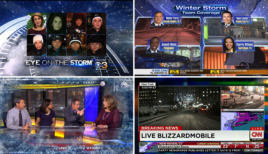 The Best and Worst of Local News Storm Coverage