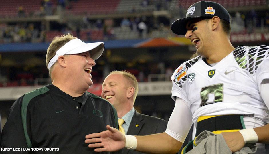 NCAA Football: Fiesta Bowl-Oregon vs Kansas State