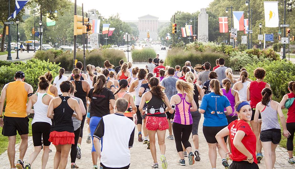 Be Well Philly Cross-Training Run, summer 2014