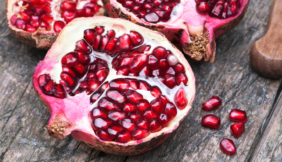 As you might imagine, pomegranate and barley are featured on the menu several times