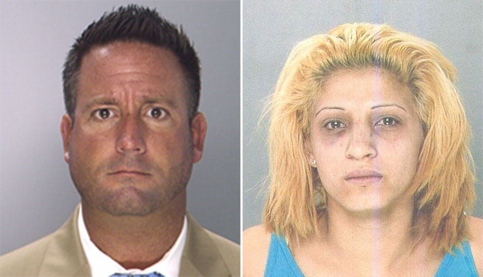 Ronald Dove and Erica Sanchez