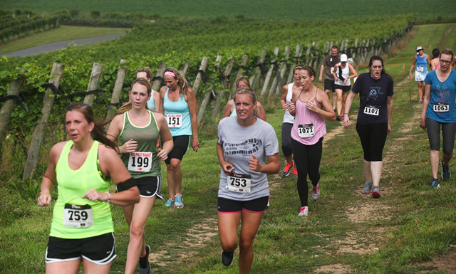 Run the Vineyards 3.2.1 Challenge