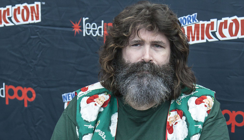 Mick Foley at Comic Con in October 2014 at The Jacob K. Javits Convention Center in New York City. | Sam Aronov / Shutterstock.com