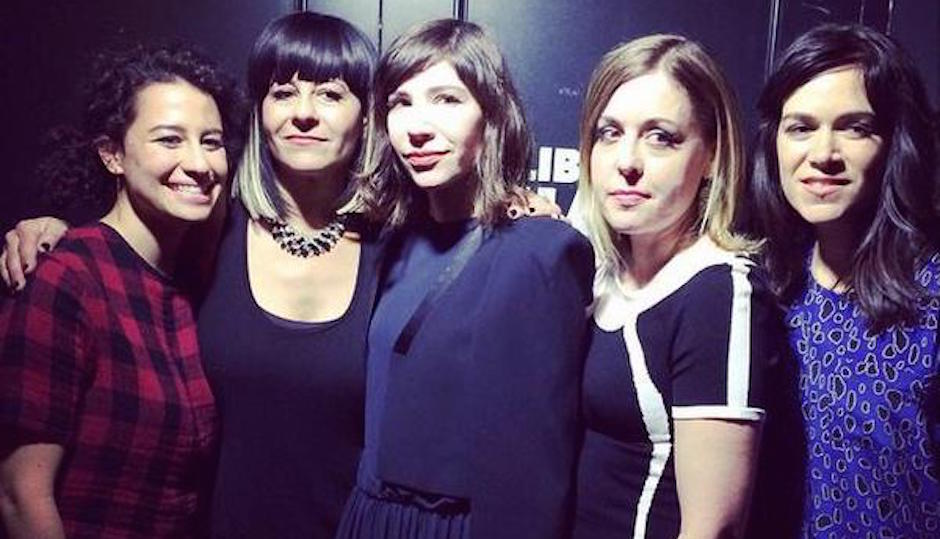 Photo from Carrie Brownstein's Twitter.