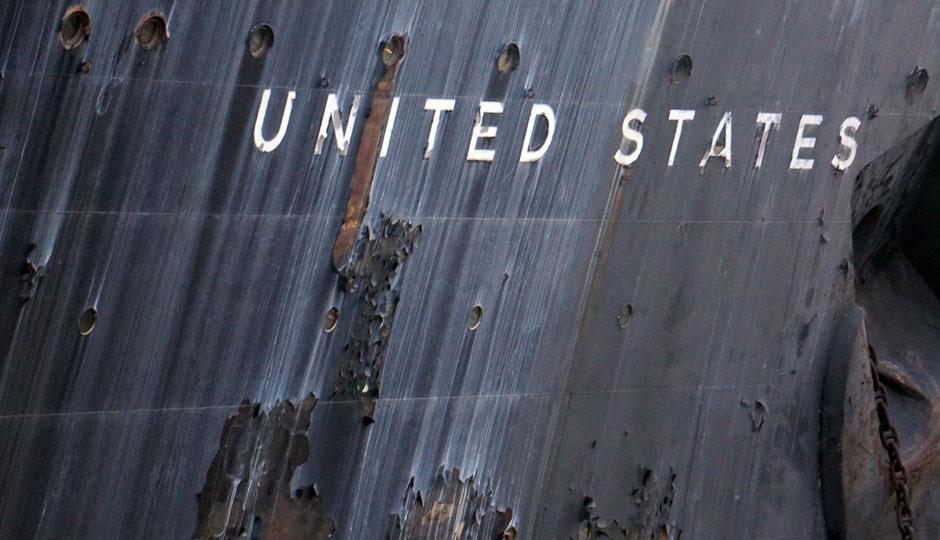 USS United States   Photo by Arthur Etchells