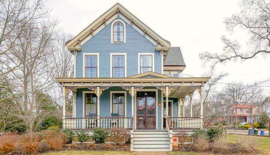 For Sale Restored Victorian Home In Haddonfield