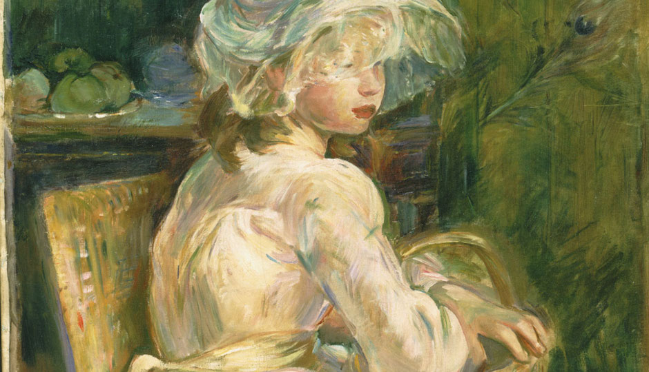 Berthe-Marie-Pauline Morisot's Young Girl With a Basket is among the new works recently acquired by the Philadelphia Museum of Art.