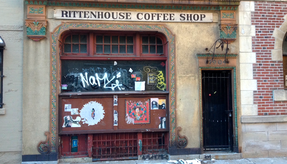 The Rittenhouse Coffee Shop on the 1900 block of Sansom Street