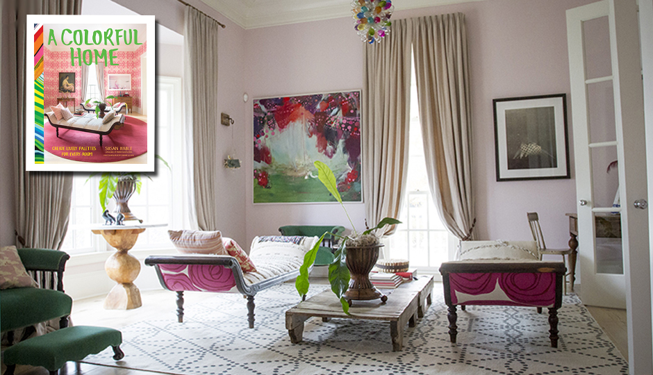 Photos by Rinne Allen, from A Colorful Home.