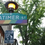 Gayborhood sign