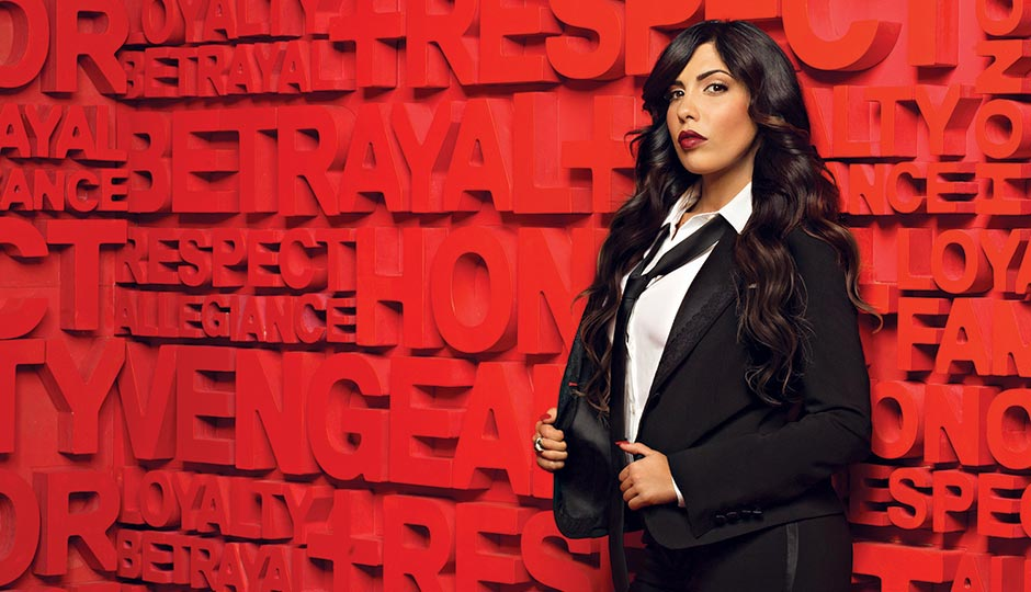 Natalie Guercio, whose family runs a funeral home, joined the show last season. Photo: VH1/Piotr Sikora