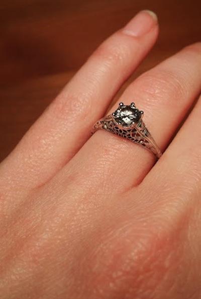 Alaina's ring!