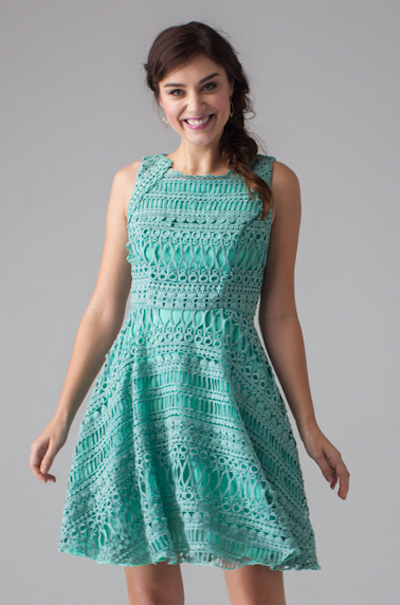 The Lucca Dress. Photo courtesy of Loverly