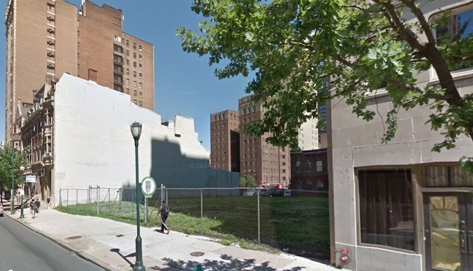 Is something finally going to happen at 19th and Walnut? | Image: Google Street View