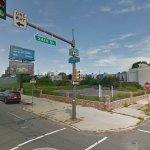 The site at 2401 Washington Ave. as of August 2014   Image via Google Street View