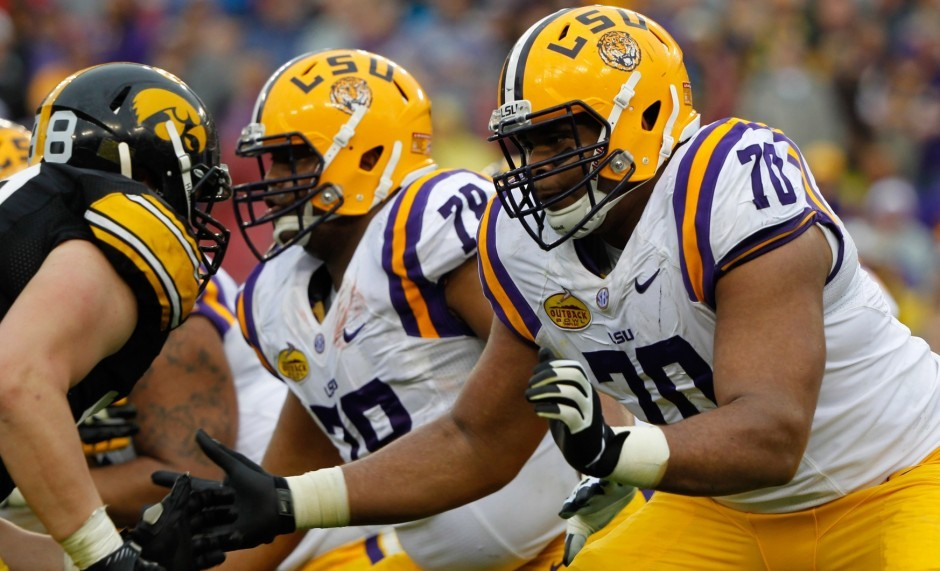 La'el Collins, LSU. Kim Klement / USA TODAY Sports