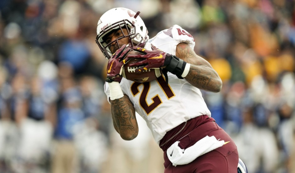 Arizona State WR Jaelen Strong. Ivan Pierre Aguirre / USA TODAY Sports