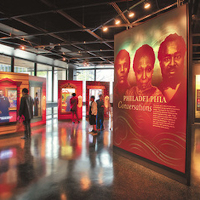 Exhibit at the African American Museum of Philadelphia.