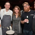 From left: Sandy Mullen, Open Table, Nick Elmi, Laurel, Stacey Lyons, GM at  Ela, author/chef Jeremy Nolen, executive chef of Brauhaus Schmitz, Jason Cichonski, Ela and Gaslight.