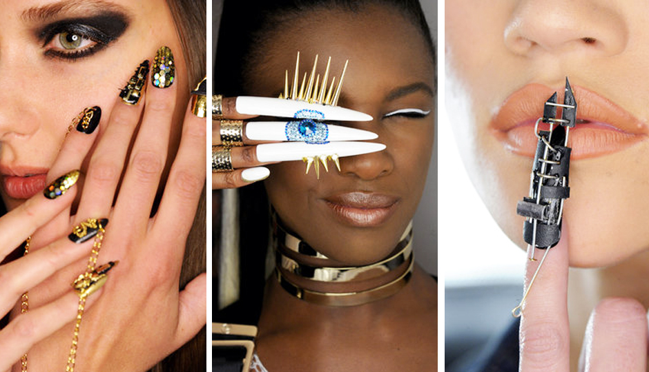 Market Report: 14 Insane Nail Art Looks That Stole the Show at ...