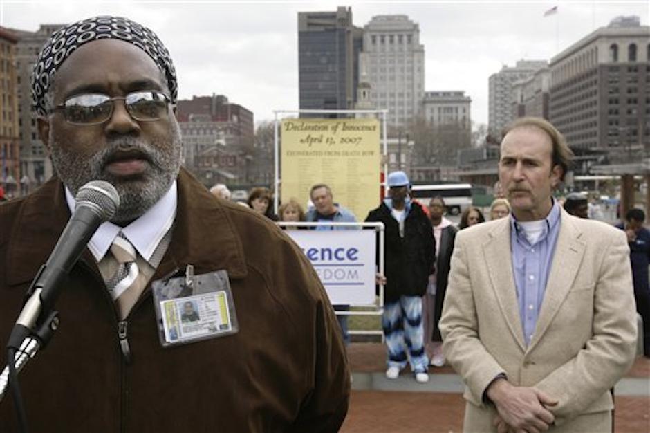 Harold Wilson, left, in 2007. (AP Photo/Matt Rourke)