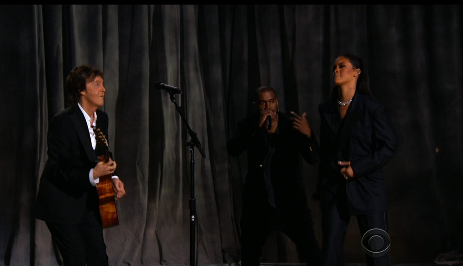 Kanye, Rihanna and Paul McCartney