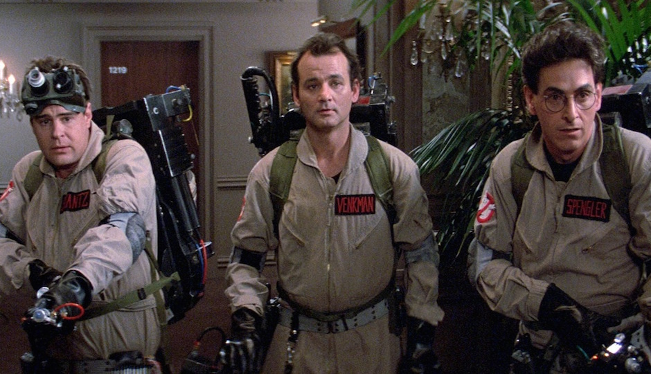 Ghostbusters is among the films playing at Philadelphia Film Society's pop-up film festival at the Philadelphia Flower Show.
