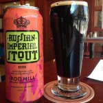Iron Hill's award winning Russian Imperial Stout has never before been available in cans