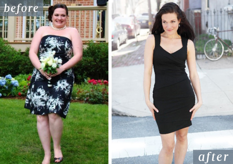 Reader Katey Dyck's before-and-after photos.