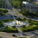 Logan Circle. Lovely, but not particularly safe. New-fangled roundabouts are. | Photo from VisitPhilly.com