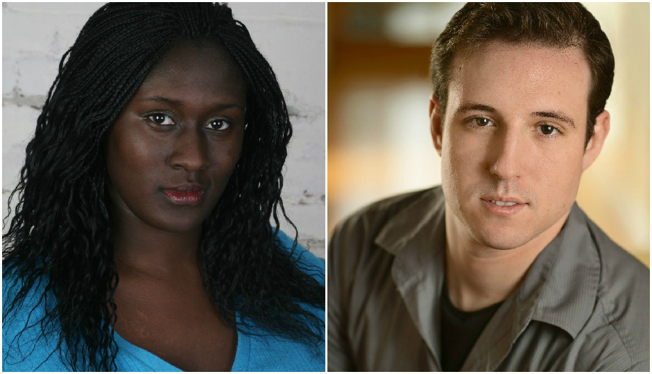 Hilary Asare and Doug Cashell star in Quince's first production of 2015, The Submission.