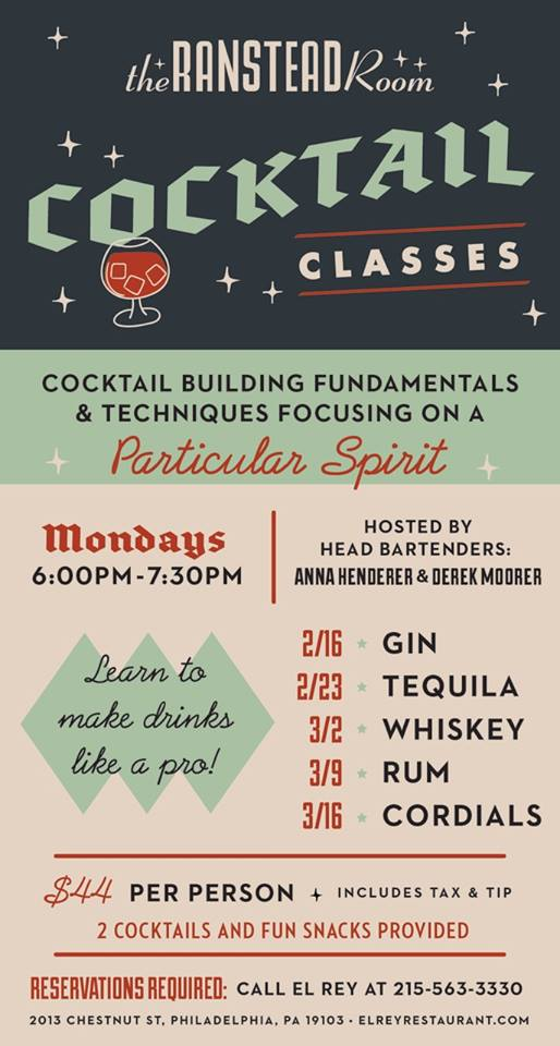 ranstead room cocktail class