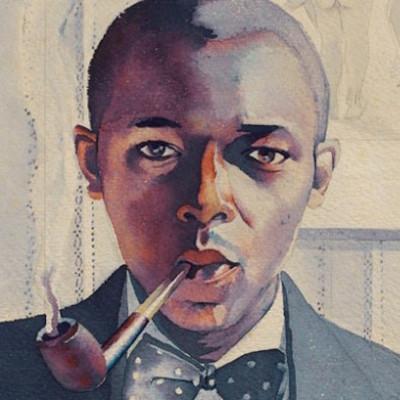 Smoking My Pipe by Samuel Joseph Brown Jr. is on display at PMA.