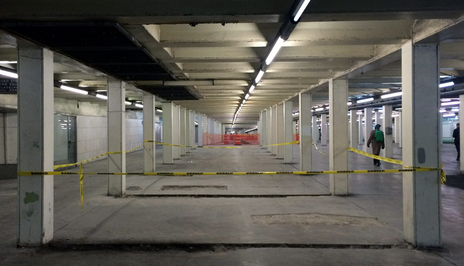 South Broad Concourse, Under Construction