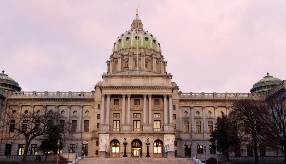 State Capitol Harrisburg