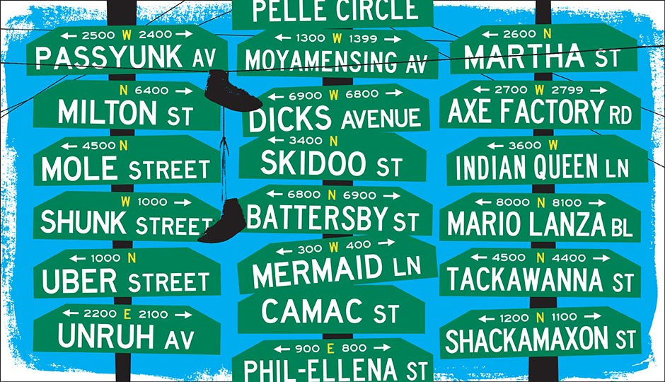 The Big List of Funny Philadelphia Street Names