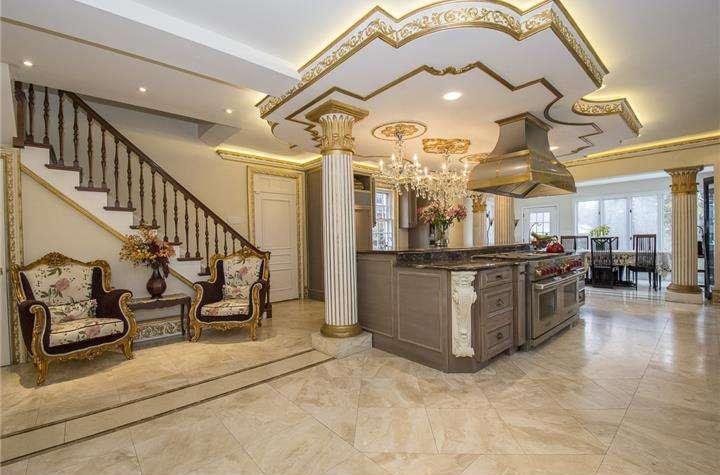 Main line monday lavish open floor plan mansion includes for Euro flooring philadelphia