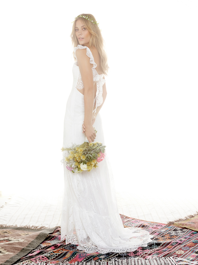 Gown by For Love and Lemons. All photos courtesy of Revolve.