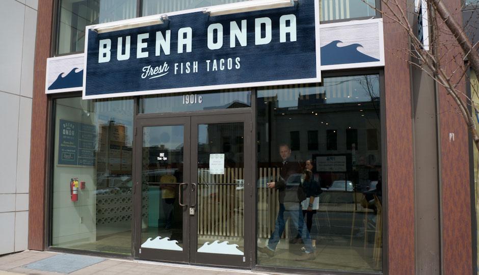 Buena Onda – Fresh Fish Tacos opens on Monday, March 16th.